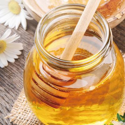 アカシア蜂蜜と瓶